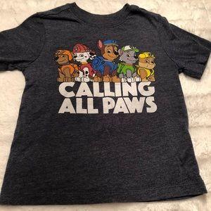 Paw patrol tee shirt
